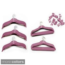 Velvet 80-piece Non-slip Hanger Set