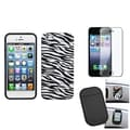 BasAcc Screen Protector/ Anti-slip Mat/ Case for Apple iPhone 5