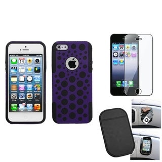 BasAcc Screen Protector/ Anti-slip Mat/ Case for Apple� iPhone 5