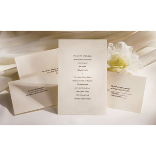 Invitation Kit 50/Pkg-Ivory