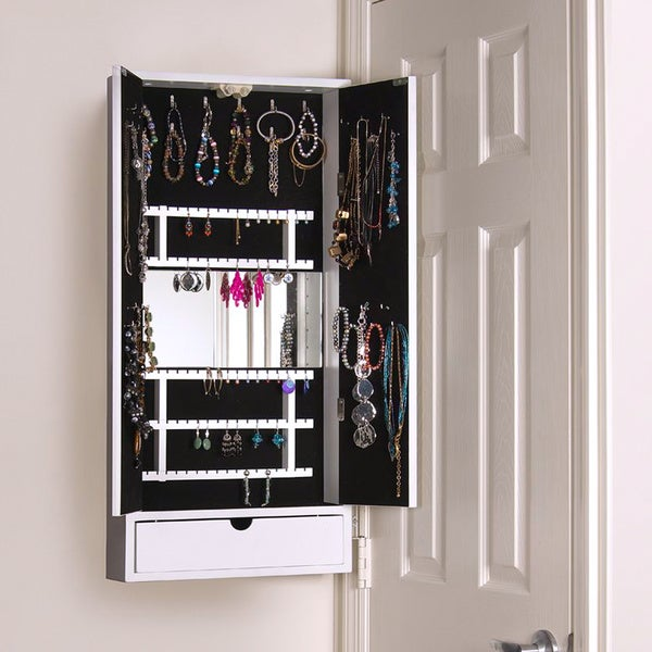Cabidor Door-mount Jewelry Storage Cabinet
