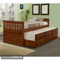Mission Captains Trundle Twin Bed