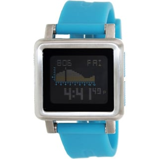 Nixon Men's Housing A157917-00 Blue Silicone Quartz Watch with Digital Dial