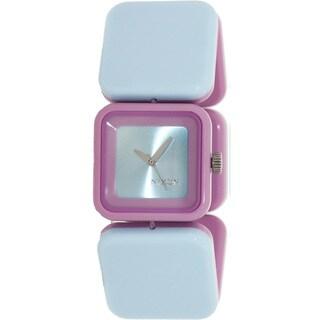 Nixon Women's Misty A107717-00 Two-Tone Plastic Quartz Watch with Blue Dial