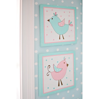 My Baby Sam Pixie Baby in Aqua 2-piece Wall Art Set