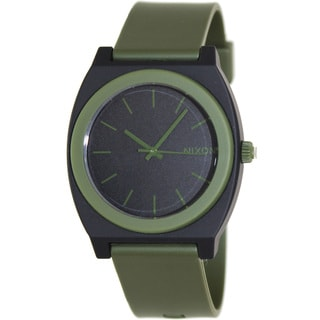 Nixon Men's 'Time Teller' Green/ Black Watch