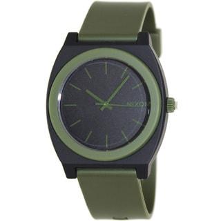 Nixon Men's 'Time Teller' Green/ Black Watch