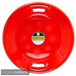 Plastic Saucer Sled, 25-Inch Diameter