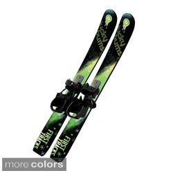 Lucky Bums Kids Beginner Skis No Poles (70 cm)