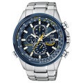 Citizen Eco-Drive Men's Blue Angels Multi-function Watch