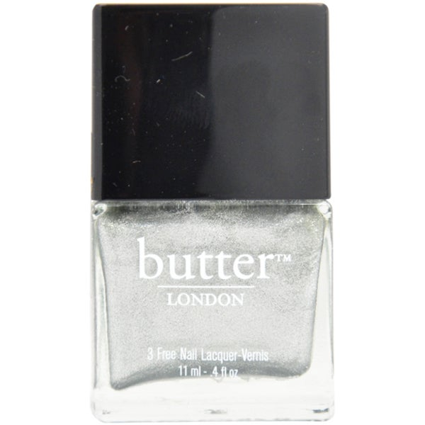 Butter London Diamond Geezer Silver Nail Polish