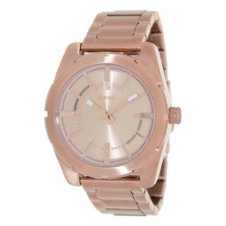 Diesel Men's Rose Gold Stainless Steel Quartz Watch