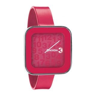 Nixon Women's Rocio Pink Silicone Quartz Watch