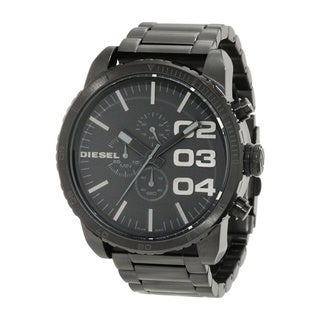 Diesel Men's Black Stainless Steel Black Dial Quartz Watch