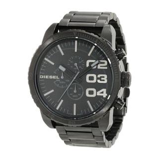 Diesel Men's Black Stainless Steel Black Dial Quartz Watch