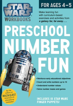 Star Wars Workbook: Preschool Number Fun! (Paperback)