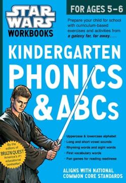 Star Wars Kindergarten Phonics & ABCs, for Ages 5-6 (Paperback)