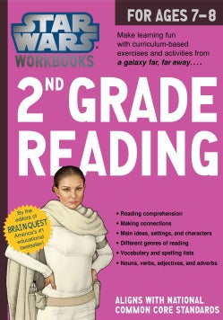 Star Wars 2nd Grade Reading, for Ages 7-8 (Paperback)