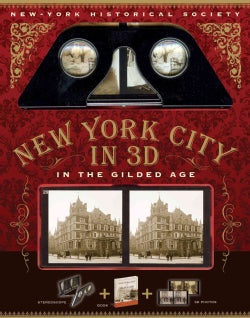 New York City in 3D in the Gilded Age (Paperback)