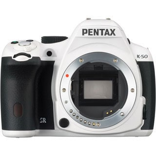 Pentax K-50 16.3 Megapixel Digital SLR Camera (Body Only) - White
