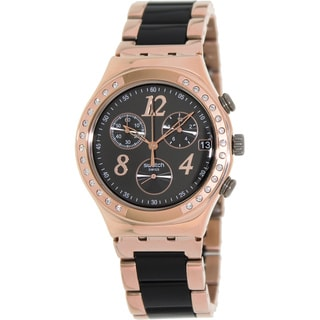 swatch s irony ycg404g two tone stainless steel