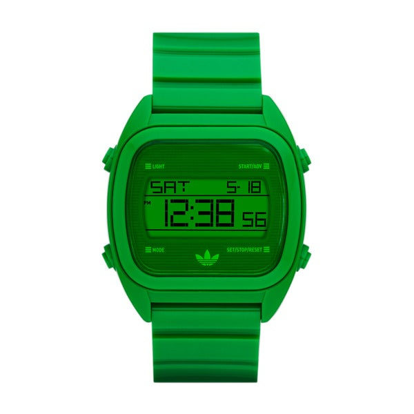 Adidas Men's Syndney ADH2730 Green Plastic Quartz Watch with Green Dial