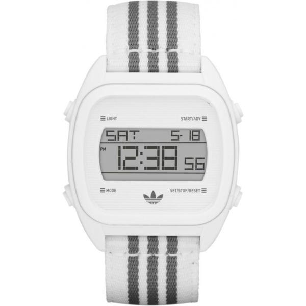 Adidas Men's Syndney ADH2732 White Nylon Quartz Watch with White Dial