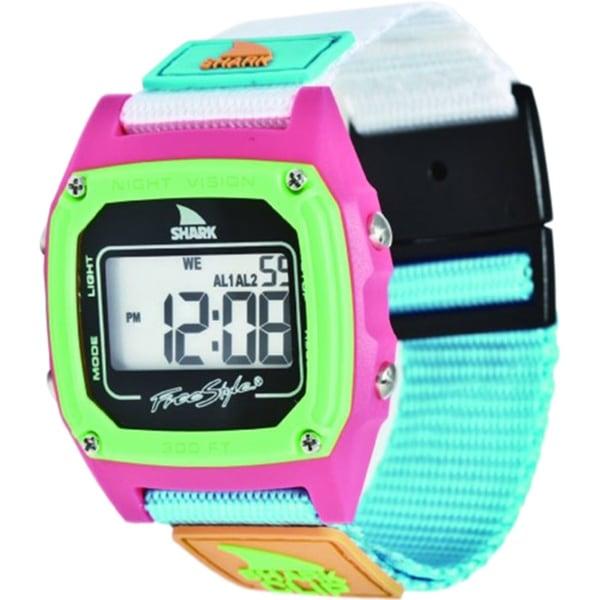 Freestyle Women's Shark FS84861 Blue Nylon Quartz Watch with Digital Dial