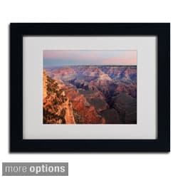 Pierre Leclerc 'Grand Canyon Sunrise' Framed Matted Art