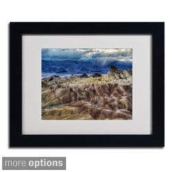 Pierre Leclerc 'Death Valley' Framed Matted Art