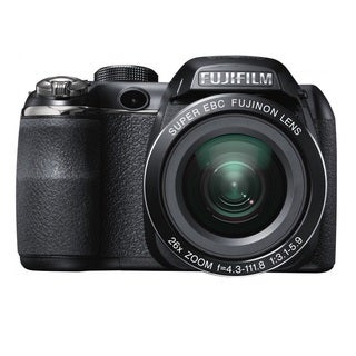 FujiFilm FinePix S4300 14MP Black Digital Camera 16GB Bundle