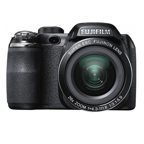 FujiFilm FinePix S4300 14MP Black Digital Camera 16GB Bundle