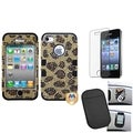 BasAcc Screen Protector/ Anti-slip Mat/ Case for Apple� iPhone 4/ 4S