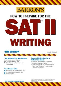 Barrons SAT II Writing (Paperback)