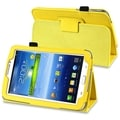 BasAcc Yellow Leather Case with Stand for Samsung� Galaxy Tab 3 7.0
