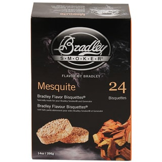 Bradley Smokers Mesquite Smoker Bisquettes (Pack of 24)
