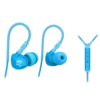 MEElectronics Sport-Fi M6P Memory Wire In-Ear Earphones, Mic, Remote, and Universal Volume Control