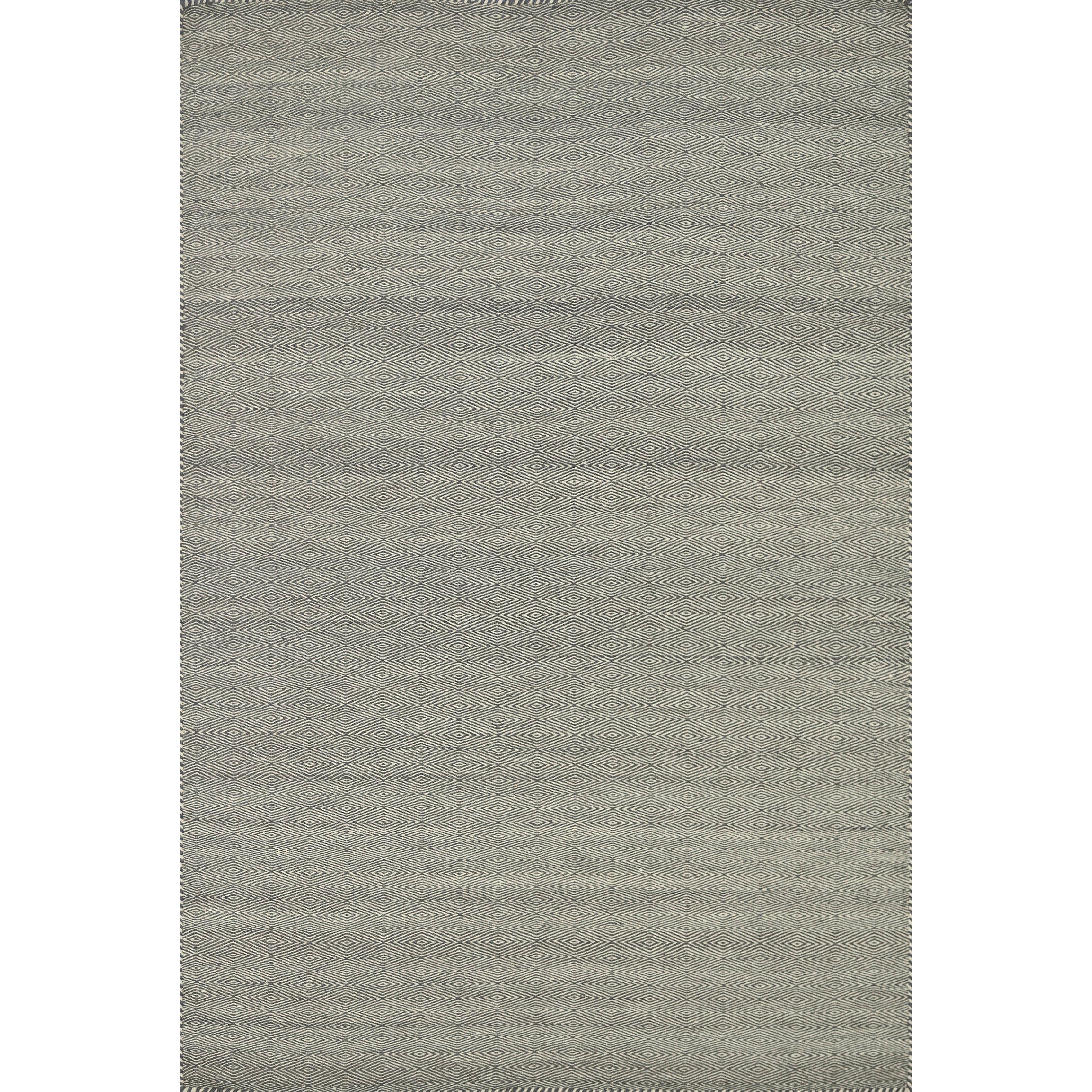 Alexander Home Hand-woven Poplin Smoke Wool/ Cotton Rug (3'6 x 5'6) at Sears.com