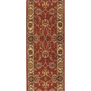 Karastan Ashara Agra Red Rug (2'6 x 8')