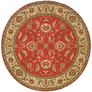 Karastan Ashara Agra Red Rug (8'8 Round)