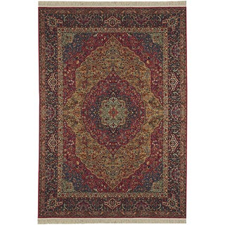 Original Karastan Medallion Kirman Rug (5'9 x 9')