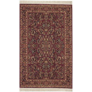 Original Karastan Red Sarouk Rug (5'9 x 9')
