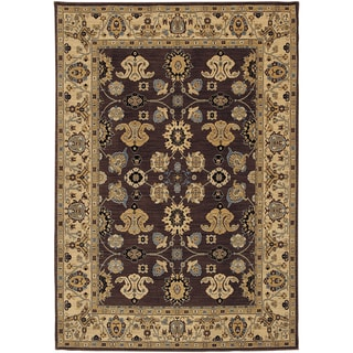 Karastan English Manor Stratford Mahogany Rug (5'7 x 7'11)