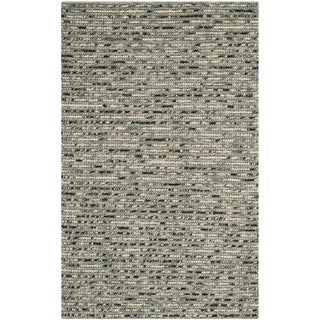 Safavieh Hand-knotted Bohemian Grey Wool Rug (4' x 6')