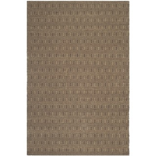 Safavieh Hand-woven South Hampton Brown Polyester Rug (7'6 x 9'6)