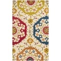 Safavieh Handmade Wyndham Ivory New Zealand Wool Rug (3' x 5')