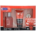 Air Val International 'NBA Chicago Bulls' Men's 3-piece Fragrance Gift Set