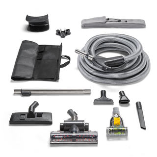 Quiet Deluxe Central Vacuum Kit