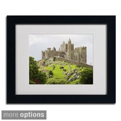Pierre Leclerc 'Rock of Cashel Ireland' Framed Matted Art