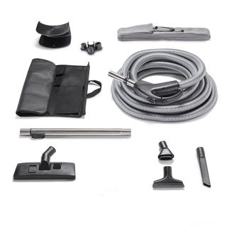 GV Garage Central Vacuum Tool Kit with 30-foot Hose